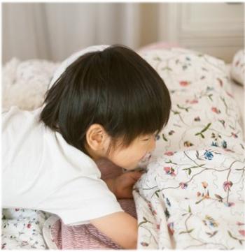 5歳の子供が突然の嘔吐!胃腸風邪のときの症状と過ごし方