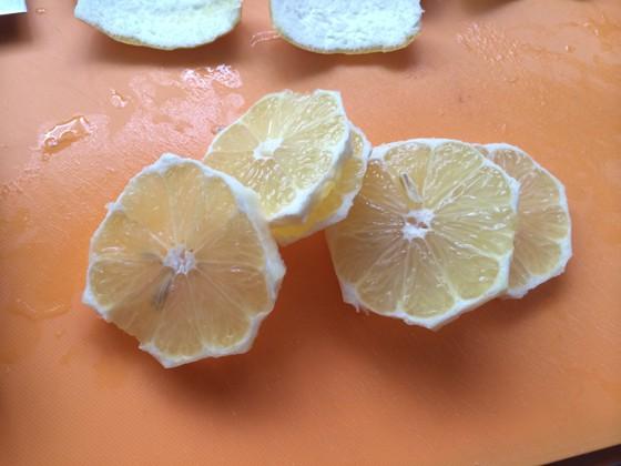 レモンのはちみつ漬け