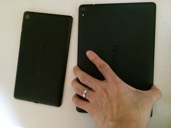 Nexus7とNexus9の比較