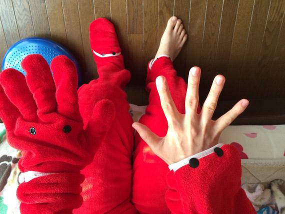 ニュータイプ着る毛布
