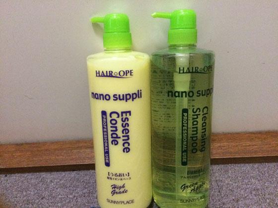 美容院でも使われるシャンプーとコンディショナー「ナノサプリ」を使ってみた感想…頭皮のフケとニキビに効果的