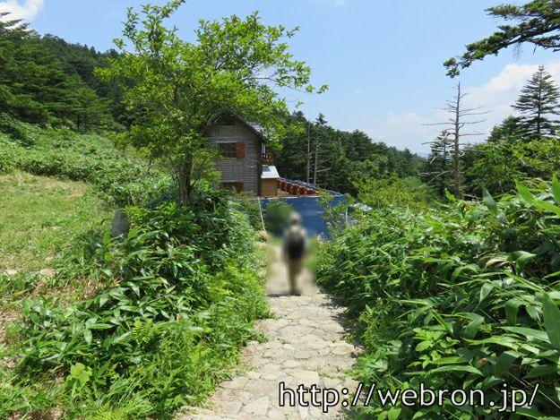 萬岳荘からのトレッキング