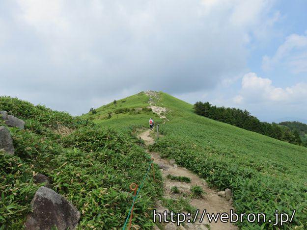 富士見台高原への道