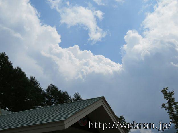増えて来る雲