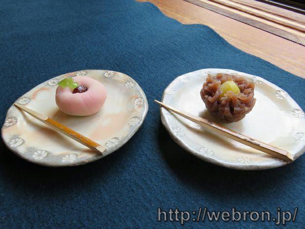 嚶鳴庵の和菓子