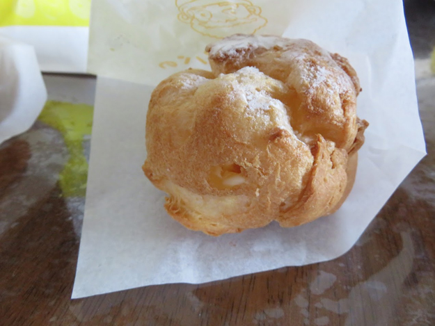 ビアードパパの作りたて工房のパイシュークリーム