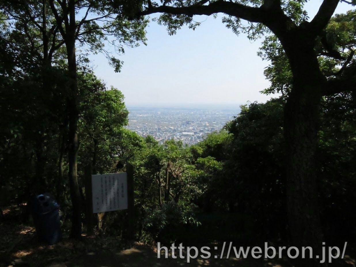 金華山のロープウェー