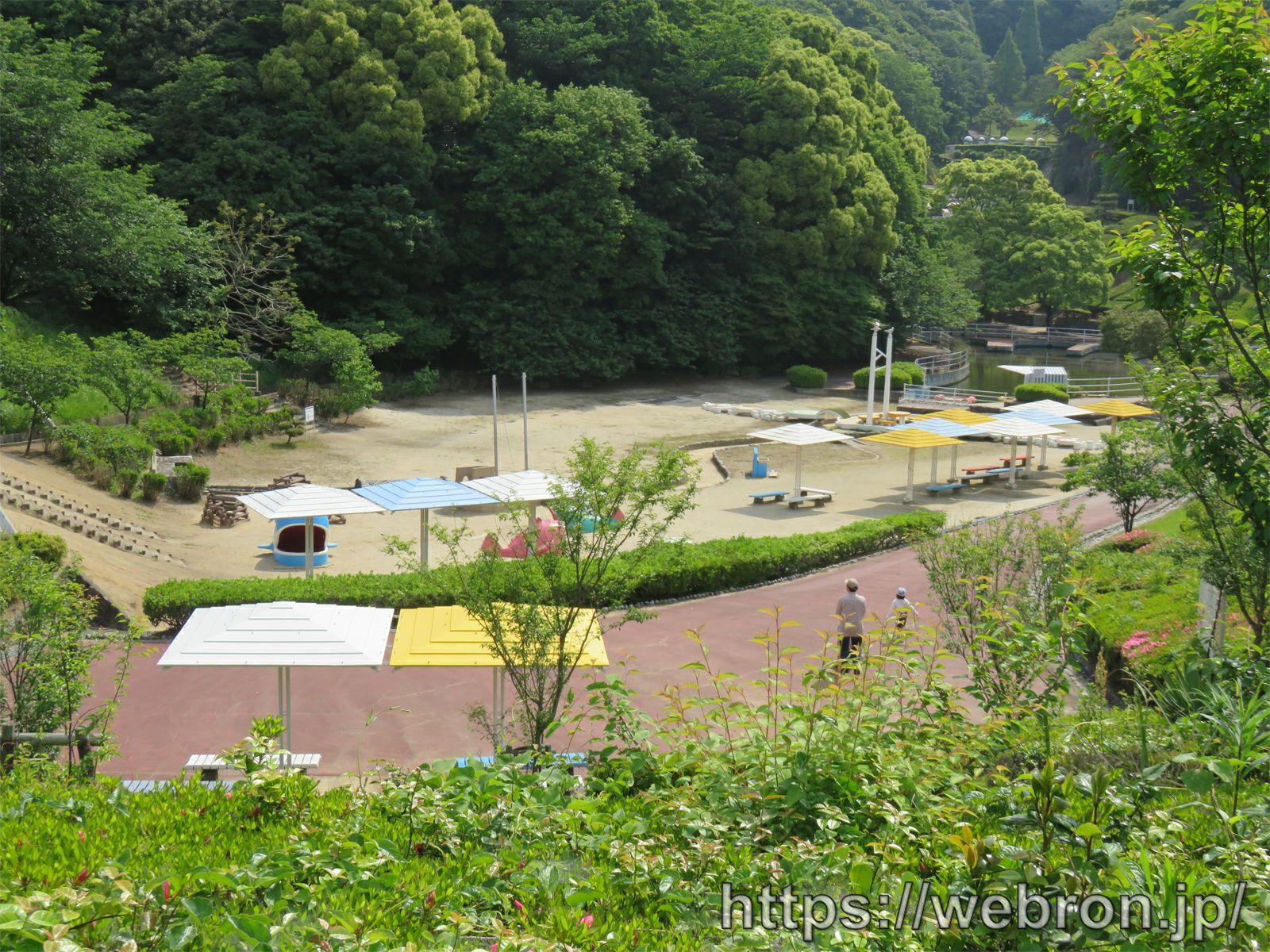 愛知こどもの国のあさひが丘のふくちゃん広場