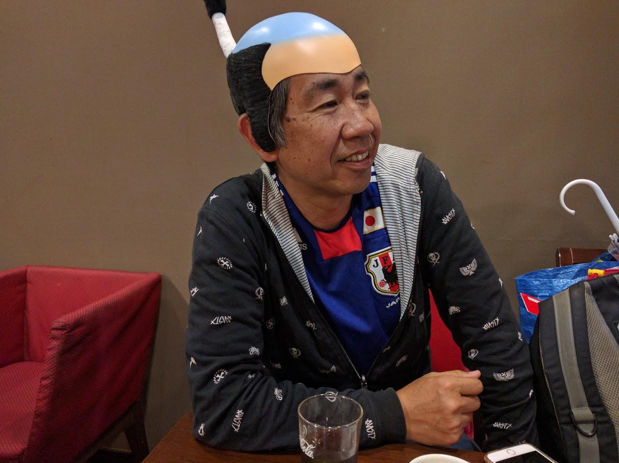 ちょんまげ隊長ツン