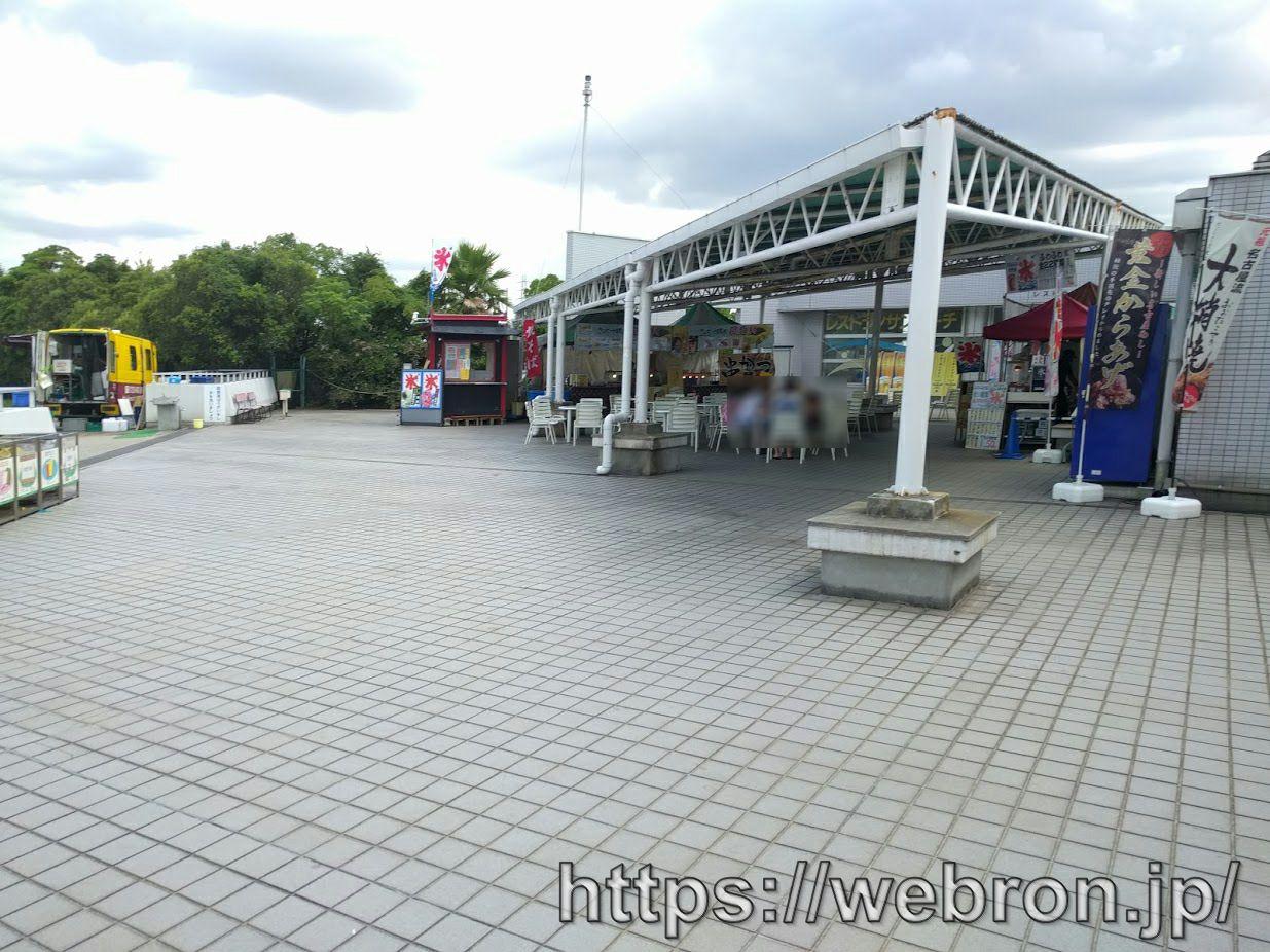 サンビーチ日光川の露店