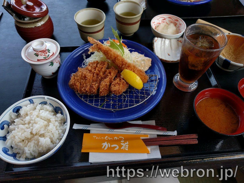 「やわらかとんかつ かつ雅」が全部美味しかったのでガチでオススメします…名古屋近辺のグループ店