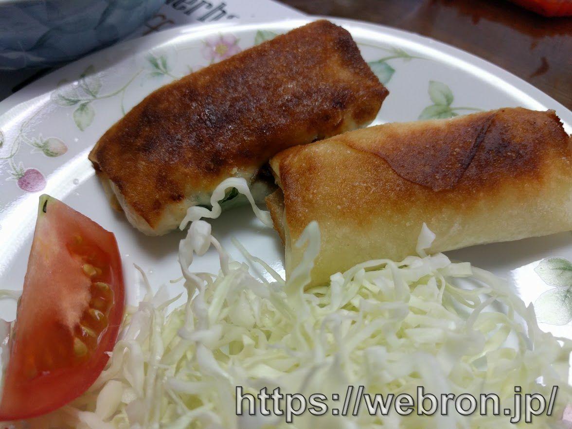 ササミ・大葉・とろけるチーズ入り春巻きの作り方…初心者の男性でも簡単に作れて美味しいよ!