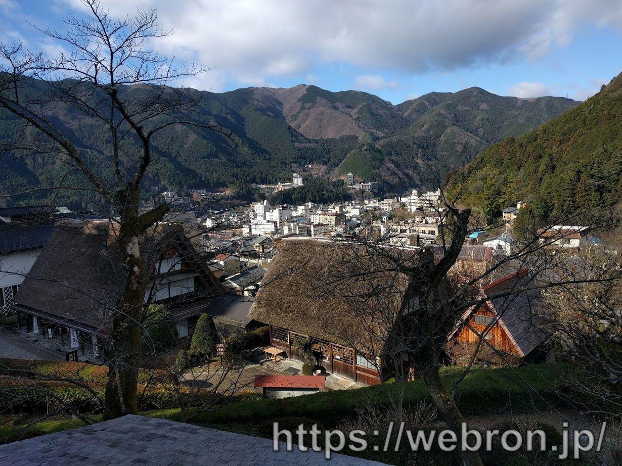 合掌村の建物や景色