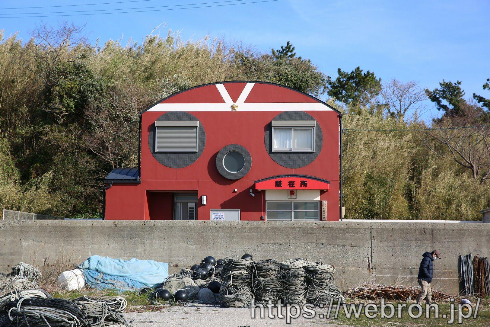 日間賀島のタコの駐在所