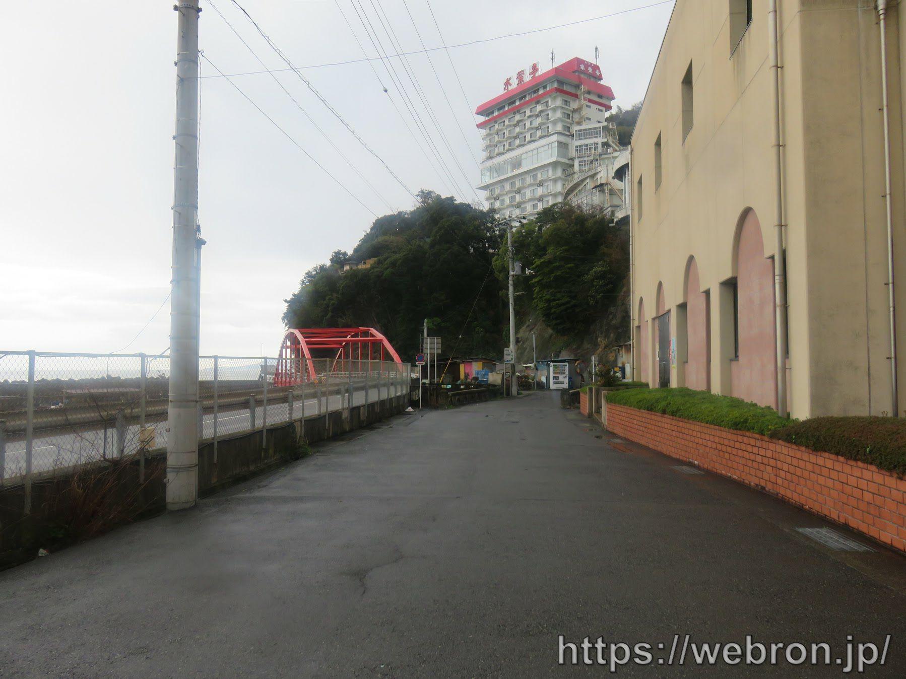 走り湯から熱海駅へ